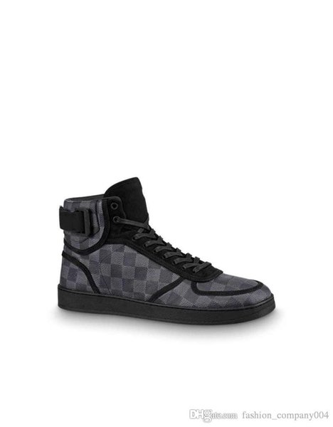 Rivoli Sneaker Stiefel High-Top Sneakers für Herren Designer Trainer Männer Marke Casual Wanderschuhe mit Box