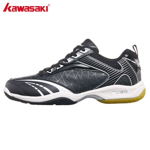 5d4ca903be2 2018 Kawasaki Brand Men's Badminton Shoes Professional Indoor Court Sports  Sneakers Anti-Slippery Wear-