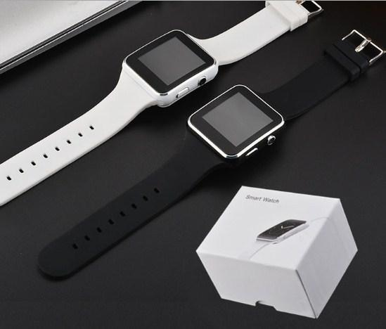 X6 Smart Watches With Camera Touch Screen Support SIM TF Card Bluetooth Smartwatch For Iphone X Samsung s9 Android Phone with Retail Box