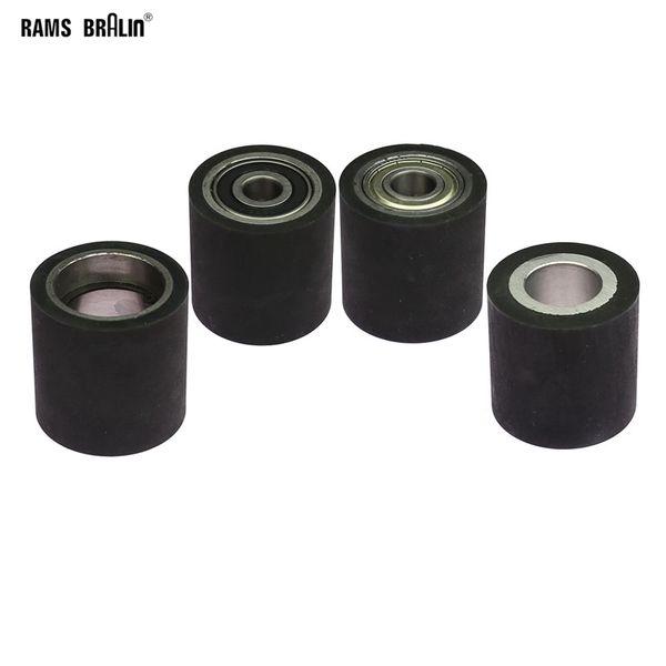 top popular 1 piece 50*50mm Solid Rubber Contact Wheel Belt Grinder Part 2021