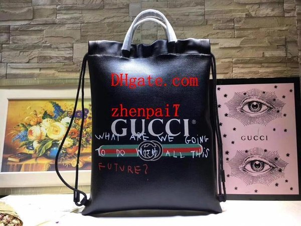 2019 brand fashion bags black letter waterproof genuine leather bag women handbags purses shouder bag High quality handbags CDE-14