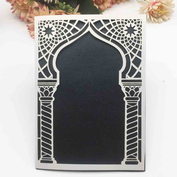 Luxury Place Pattern Wedding Invitation Card Royal Engagements Birthday Party Family Party Festival Ceremony Invitation Supplies When To Send Out