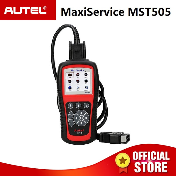 Autel MST505 Scanner for VW/Audi/Seat/Skoda All Systems OBDII Diagnoses Oil & EPB service Printing Data Lifetime free Update