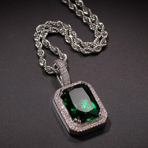 Silber + grün