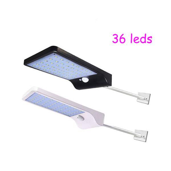 36 LEDs de luz solar, nenhum controlador remoto