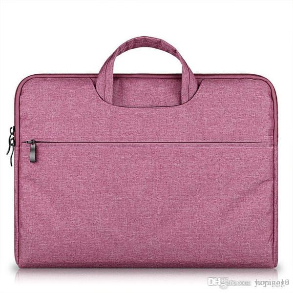 Maleta de Grande Capacidade Laptop Bolsa Bolsa Para Mulheres Homens Viajar Bussiness Para 11 12 13 14 15.6 Polegada Macbook Pro PC Sleeve Case