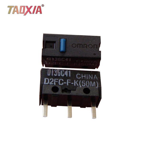Подлинная Omron D2FC-F-K (50 м) Микропереключатель мыши 7N 10 м 20M OF Razer Button 5 шт. Микропереключатель мыши Blue Point