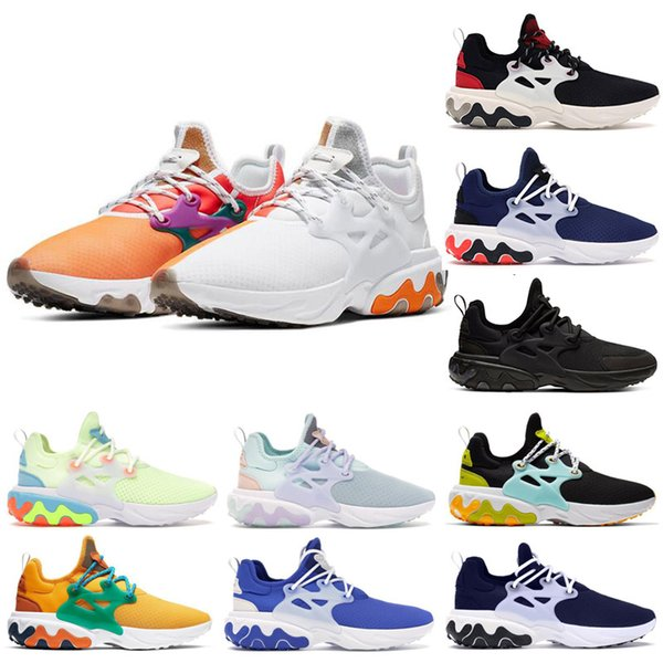 2019 NIKE Presto Running Shoes TRIPLE BLACK WHITE Volt OLYMPIC Atomic Pink Mid Men Women luxury Trainers Sneakers Sports Designer Shoes 36-46