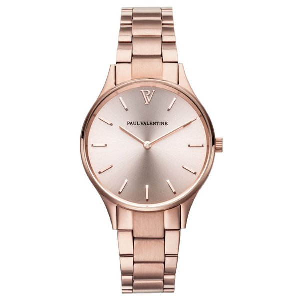 Reloj de lujo de moda paul valentine Correa de acero inoxidable delgado Reloj masculino Reloj de negocios Moda casual Relojes femeninos relogio