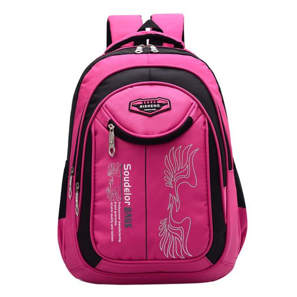 Soudelor Hot Sale Children Backpacks Waterproof Backpack Kids Orthopedics School Bags Boys Girls Schoolbag Bookbag Sac Enfant
