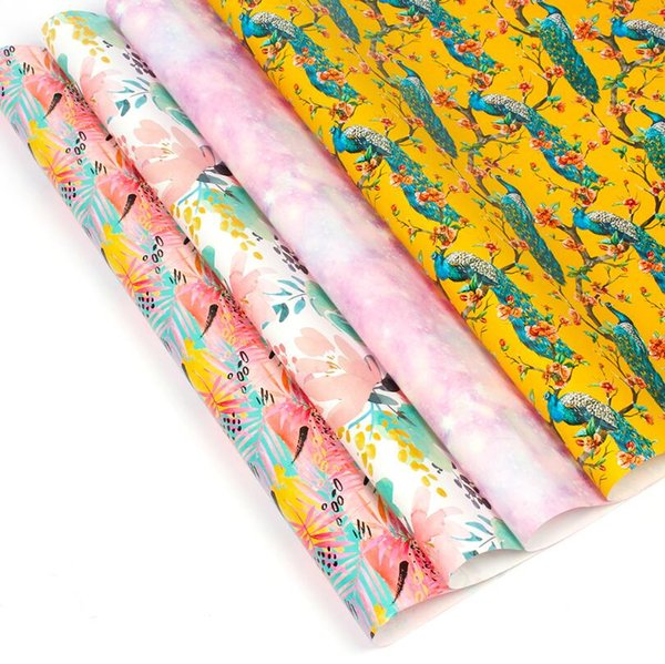50 70 Cm Gift Wrapping Paper Designer Cartoon Gift Wrapping Paper Diy Creative Packaging Paper Paper Boxes Packaging Solutions From Homeju 24 32