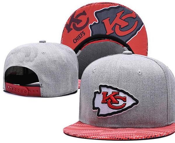 Cheap Snapback Caps Women Men KC Kansas City hat Snapback bone Baseball Cap Embroidered Team Size Flat Curved Brim Hats Baseball Cap 05