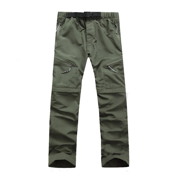 Naranjasabor 2018 Summer Men's Pants Men Trousers Quick Dry Spring Thin Sweatpants Waterproof Army Pants For Mens Brand Clothing