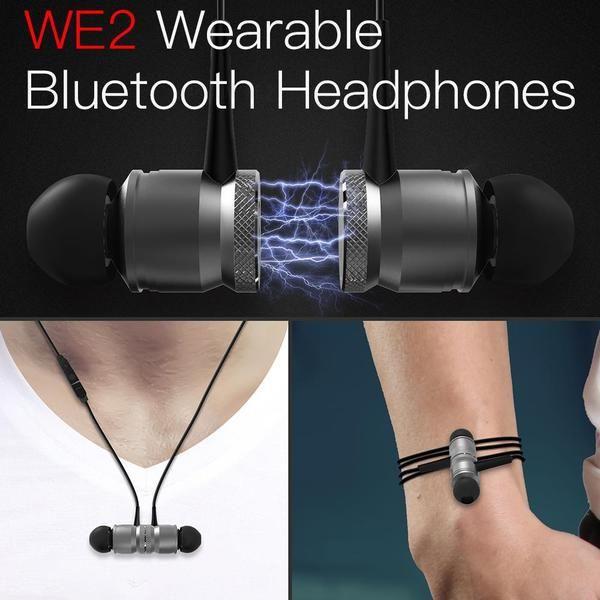 JAKCOM WE2 Wearable Wireless Earphone Hot Sale In Headphones Earphones As  Promotional Medallion Retropie Wireless Earbuds Wireless Earphones Headsets