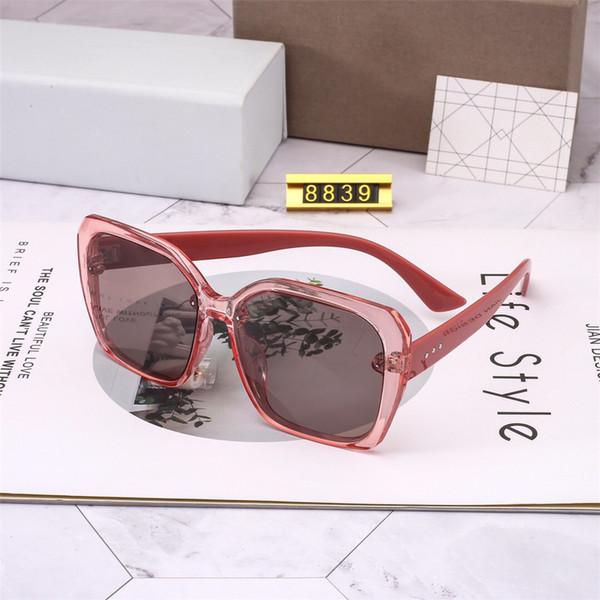 d6326a311 2019 Óculos De Sol Do Desenhador Famoso Grande Quadro Quadrado Óculos de  Alta Qualidade UV400 Gradiente