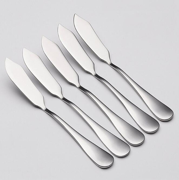 Creativity 304 Stainless Steel Butter Knife Western Food Cheese Bread Jam Spreader Bread knife Tableware Knives H156