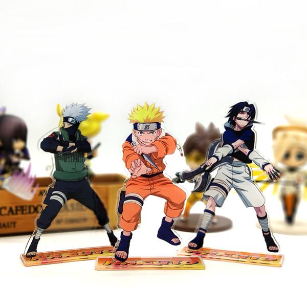 Compre Buy 4 Livre 1 Naruto Kakashi Sasuke Acrilico Stand Figura Modelo Double Side Bolo Topper Anime Exibicao De Mesa De Brinquedo De Sea Of Stars