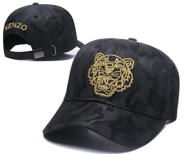 Marque de design de luxe KENZ Tigre Tête Snapback Chapeau De Baseball De La Mode Designer Strapback Yeux Os Gorras Soleil Polo Casquette De Golf Mesh Hat 05