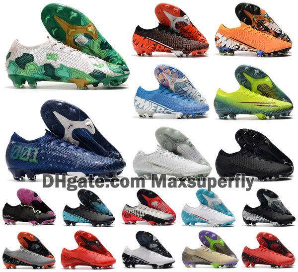 2020 Новый Мужчины Mercurial Испарения XIII Elite FG 13 MDS 001 CR7 Ronaldo Бонди Неймар NJR 360 Мечта Скорость футбол Футбол обувь Размер 39-45
