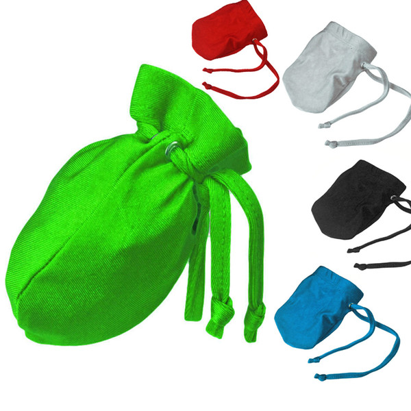 5 Colors Sexy Men Pouch Briefs Drawstring U Bag Style Panties Novelty Small Thong Exotic Male G-string Simple Beach Swimsuit