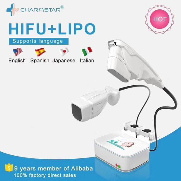 НОВЕЙШИЕ !!! Hifu высокой интенсивности фокусированного ультразвука LipoSonix Сжигание жира машина Hifu Удаление морщин Антивозрастной лица красоты оборудование