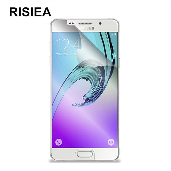 RISIEA 3pcs glossy Clear screen protector Protective Film for Galaxy A8 A8S A9 Star Lite Plus 2018 C5 C7 C8 C9