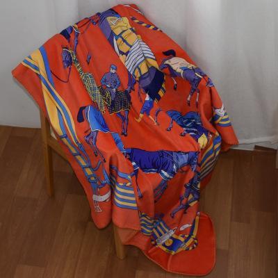 Одеяло марки Tide Цифровая печать Дворец Бытовая Одеяла в горячем стиле Двойное покрывало Одеяло Парча Пуховое одеяло