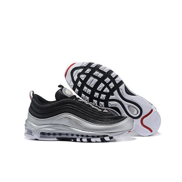 Nuevo diseñador Qs Metallic Pack Hombre Zapatillas de deporte de la mejor calidad Zapatillas deportivas al aire libre Zapatillas de deporte Tamaño 40-46