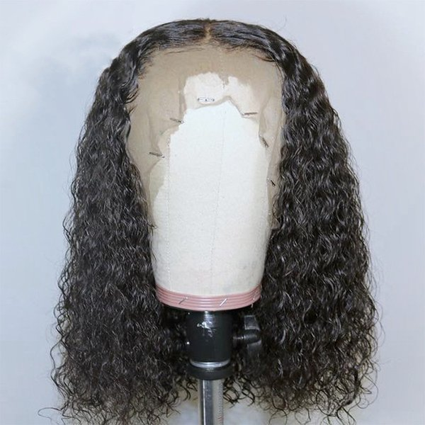 Best kinky Curly Lace Wigs With Baby Hair 100% Brazilian Vrigin hair Long Curly Wigs Full Lace Wigs For Black Women
