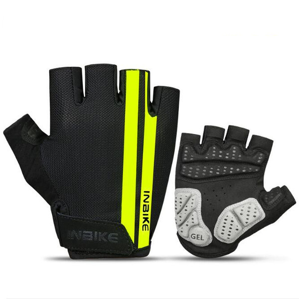 Half Finger Cycling Gloves Summer MTB Bike Gloves Breathable Men Women Bicycle Short Anti-shock Sports Gloves