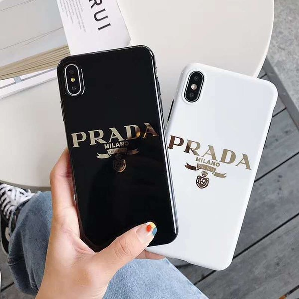 For Iphone Cases Classics Italian Luxury Pattern Apple X XS Max XR 6 6s 7 8 Plus Hard Back Protection phone case Cellphone cover
