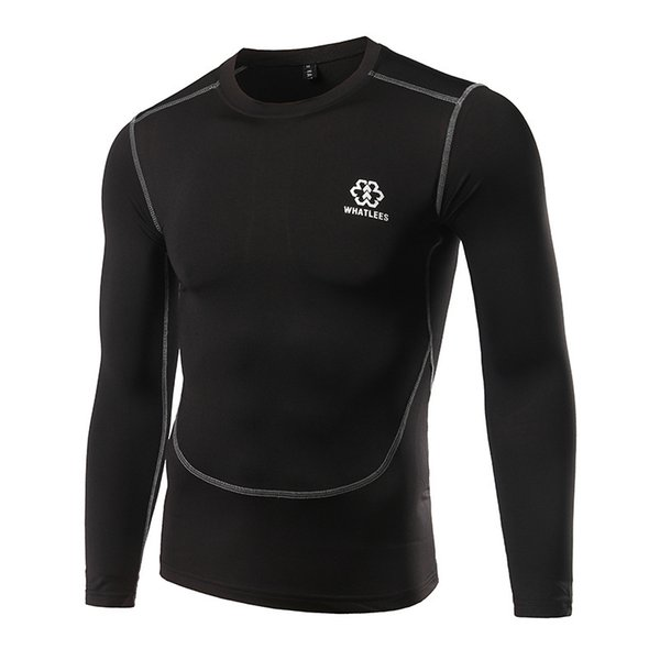 Mens New Style Spring And Summer Quick Dry Breathable Long Sleeve Shirts Outdoor Fitness Jogging Cycling Suit