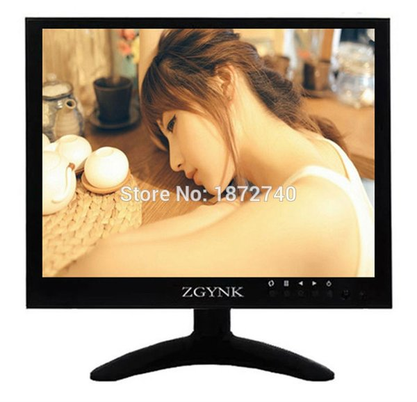 top popular 10 inch 10.4 inch metal shell BNC HDMI VGA AV interface hd monitor display LCD computer monitor 2019