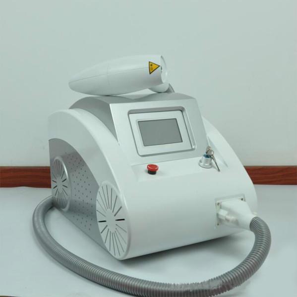 A máquina da remoção da tatuagem do laser do ND YAG do interruptor de 2000MJ Q com três pontas do tratamento para o pigmento e a tatuagem removem