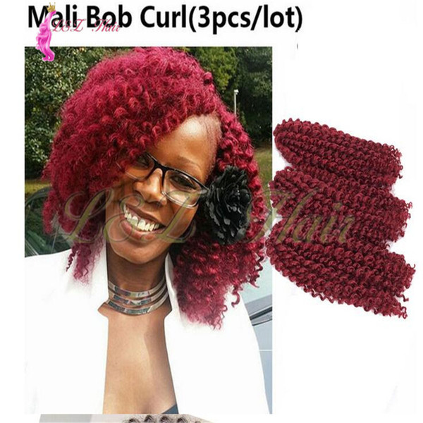Marley Braids Curly Synthetic Kanekalon Braidingd Ombre Purple Blonde Soft Spring Twist Hair Extension Micro Synthetic Curly Weave