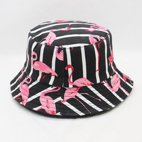 Imprimé floral à deux côtés pêcheur d'été Chapeau Femmes pêche large Brim chapeaux imperméables Protection contre le soleil Uv pliant bassin Cap