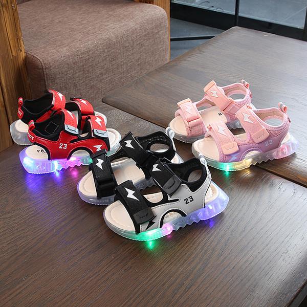 Sandalias de moda para niños Catamite para niñas Zapatos de playa para niños Zapatos de playa para niñas Año 3 Zapatos para caminar de estudio para bebés