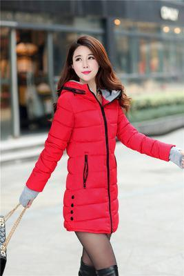 RED DOWN PARKAS