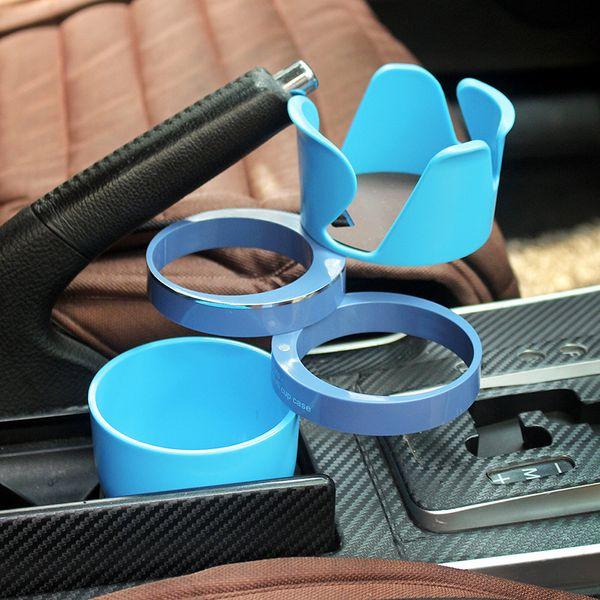 Rotatable Vehicle Storage Rack Coffee Milk Tea Supporting Shelf Detachable Car Key Water Tumbler Holder 20 Pieces DHL