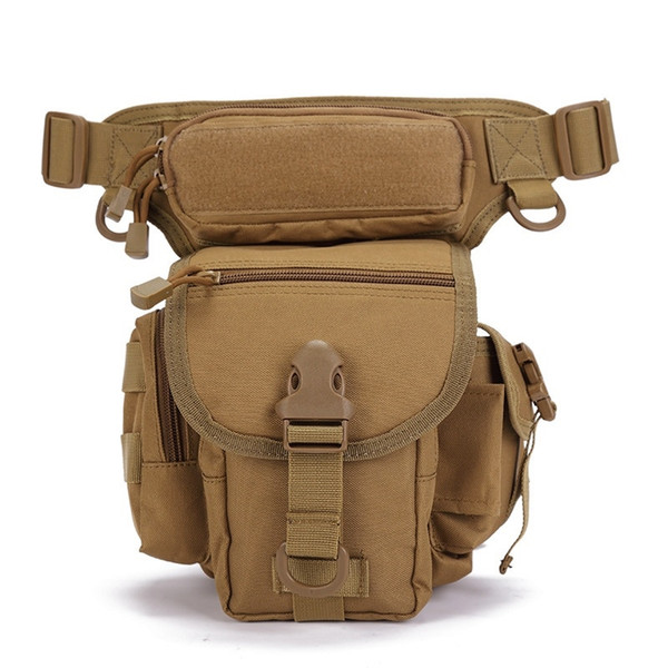 Abay Outdoor Sports Military Tactical Drop Leg Bag Waist Pack Utility Molle Thigh Pouch Hiking Climbing Hunting Bags #325388