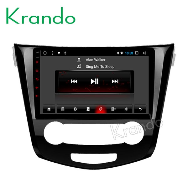 """Krando Android 8.1 10.1"""" Touch screen car Multmedia system for NISSAN X-TRAIL /Rouge 2013+ radio player gps navigation wifi car dvd"""