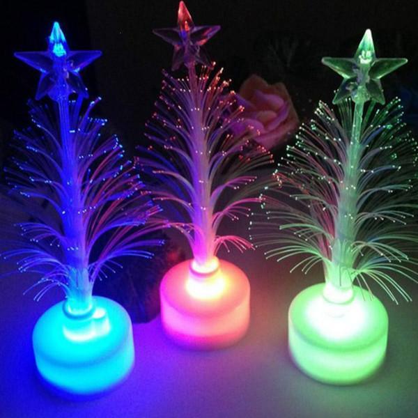 De Óptica Luz De Noche Com Árbol Fibra Lámpara Luz Mini 02 Decoración Navidad Del Compre De A2 LED Colorido VavashopDHgate Yfgyb67v