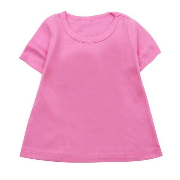 Модная детская футболка Летняя с коротким рукавом из чистого хлопка 2019 года Корейского издания Детская куртка Baby Cartoon Детская одежда