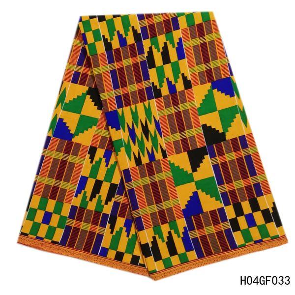 Latest 100% Cotton African Fabric Wax Hollandais Style Real Dutch Hollandais wax 6 yard/lot Women Dress