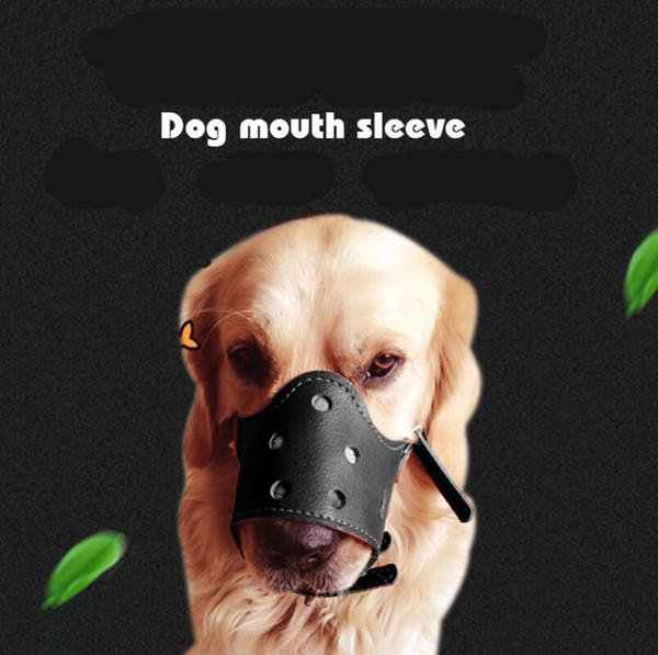 Wholesale- Pet Dog Adjustable Mask Bark Bite Mesh Mouth Muzzle Grooming Anti Stop Chewing dogs accessories Free Shipping