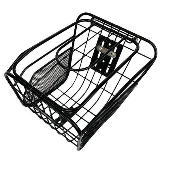 2019 New Outdoor Bicycle Basket Anti-Rust Detachable Container Bike Accessory For Road Mountain Folding Bike Electric Basket
