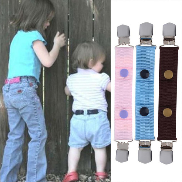 New 100% Brand New Children Kids Jeans Pants Canvas Adjustable Belt Elasticated Buckle Clip Belt Hot