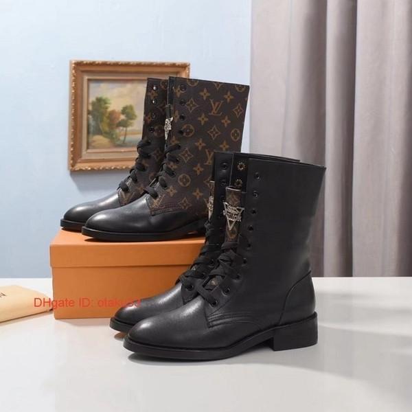 Knöchel Frauen Lederstiefel Spitz Schuhe Flock Booties New Spool Damen Low Heels Schuh Street Style koreanischen Stil