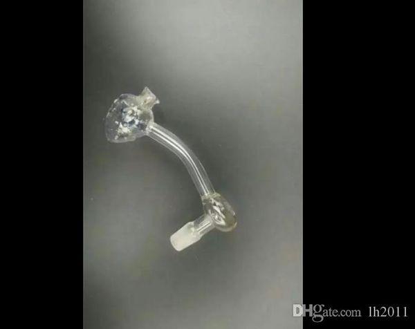 testa pot Strawberry bong di vetro all'ingrosso del bruciatore a nafta Pipes bicchiere d'acqua piattaforme petrolifere per i fumatori