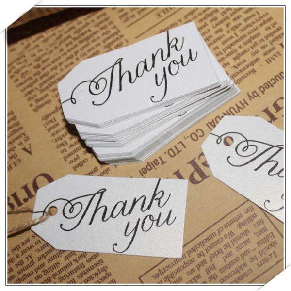 100 unids / lote blanco perla tarjeta de invitaciones de boda favor hecho a mano etiquetas de regalo gracias tarjeta artesanal etiqueta colgante suministros de fiesta de regalo Kraft